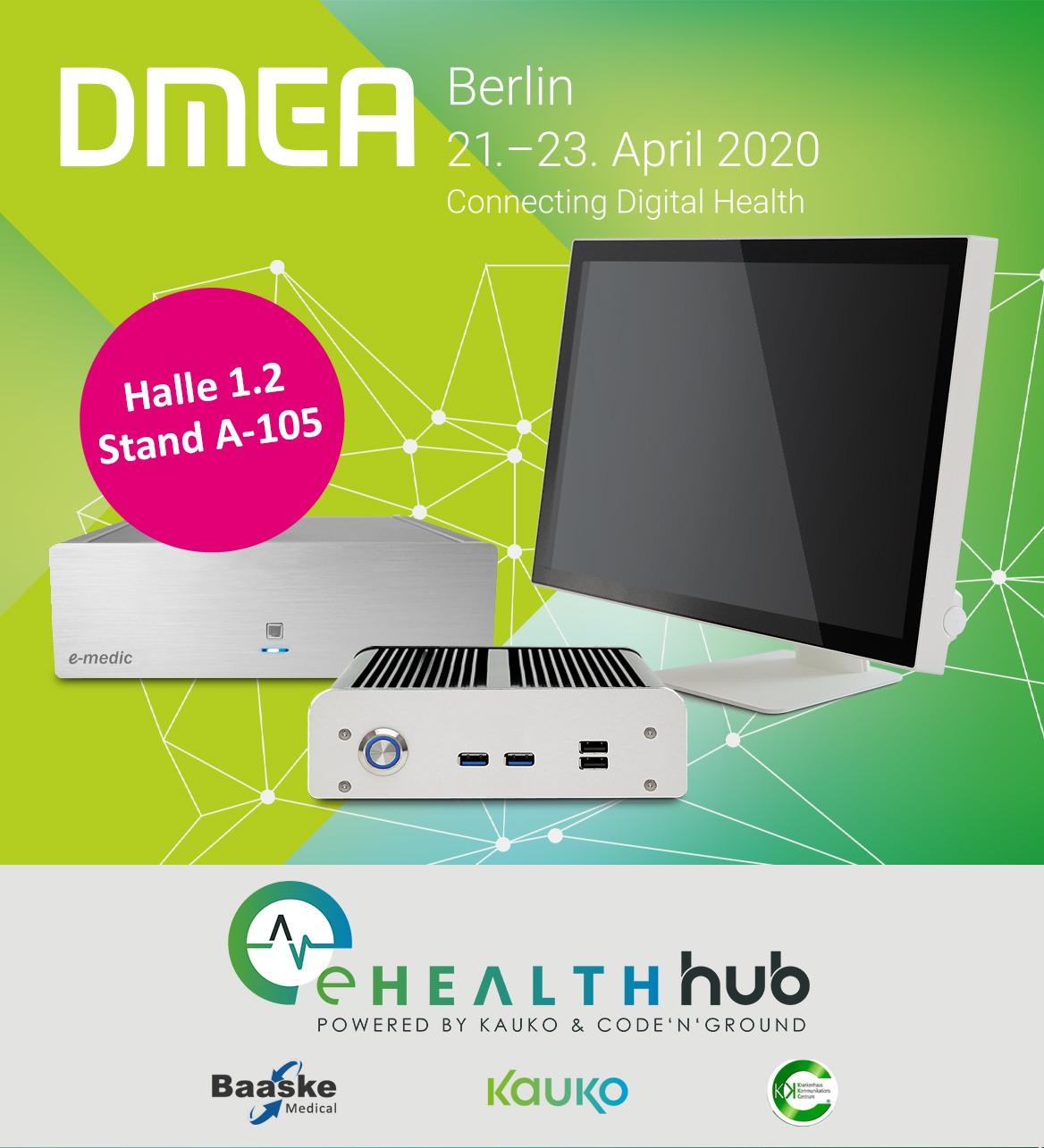 eHealth Hub goes DMEA 2020