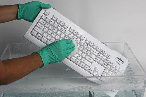Silver Seal Hygiene Tastatur 208DE