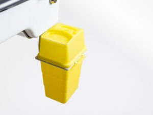 SPARKe-Halterung Kanülbehälter