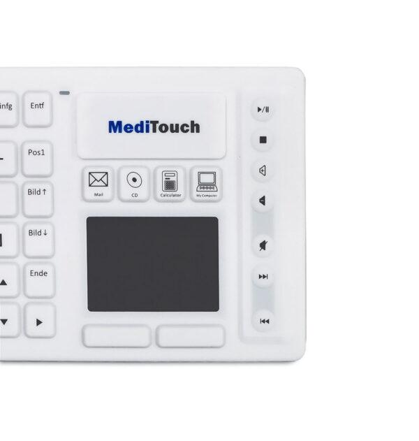 Medizinische Tastatur Baaske Meditouch Wireless
