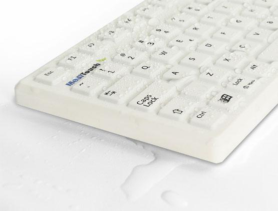 Medizinische Tastatur Baaske MediTouch ST US